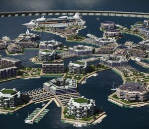 Así sería la primera ciudad flotante del mundo y estará lista en 2020