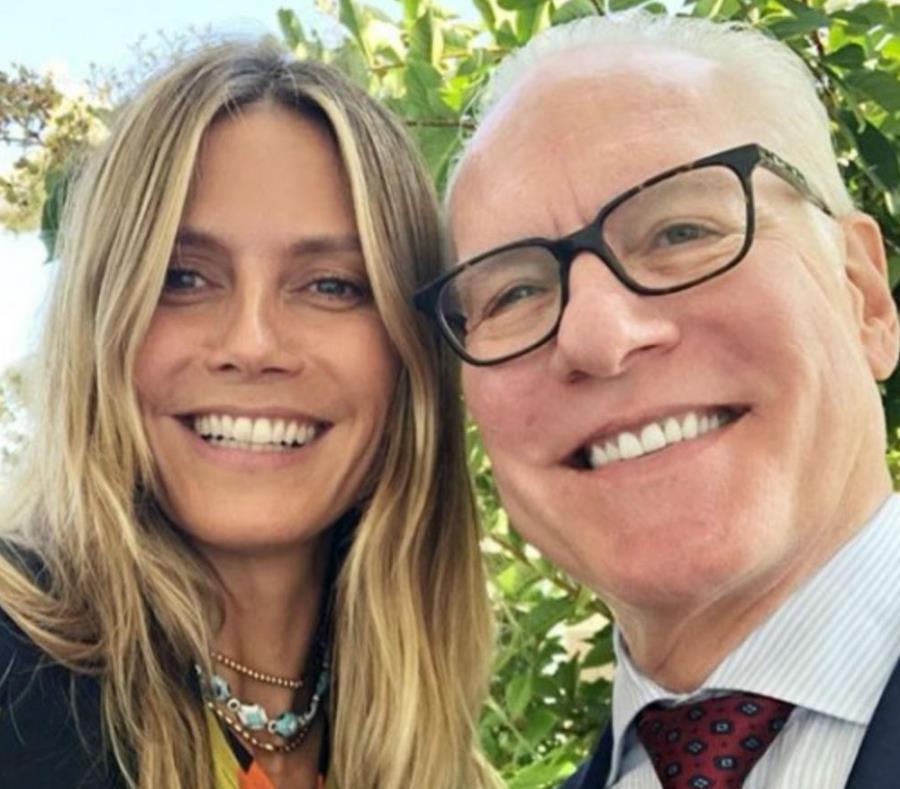 Heidi Klum y Tim Gunn dejan Project Runway (semisquare-x3)