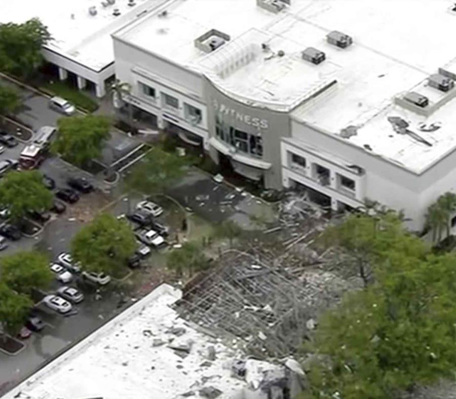 Reportan explosión por gas en un centro comercial en Plantation, Florida