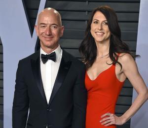 El fundador de Amazon y su esposa anuncian divorcio