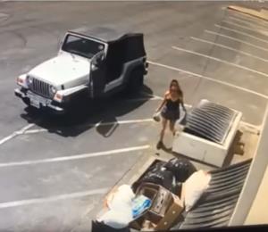 Arrestan a una mujer por tirar perros recién nacidos a un basurero en California