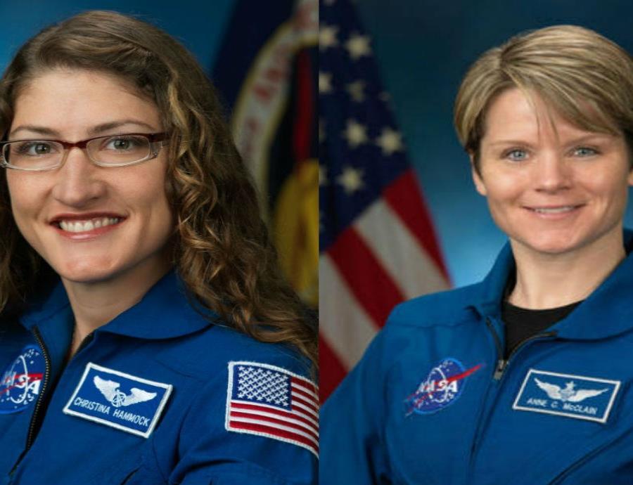 Será el próximo 29 de marzo cuando realicen dicha caminata afuera de la Estación Espacial Internacional. (semisquare-x3)