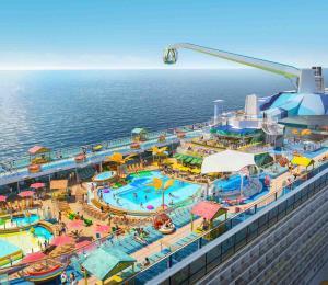 Así será el Odyssey of the Seas, nuevo barco de Royal Caribbean