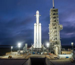 El Falcon Heavy de SpaceX trabajará con la Fuerza Aérea de EE.UU.