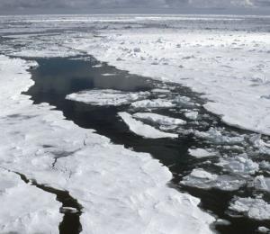 Resuelven el misterio de la formación de agujeros en el hielo de la Antártida