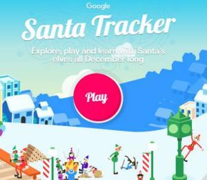 Google ya te permite seguir el recorrido de Santa Claus a través de Santa Tracker