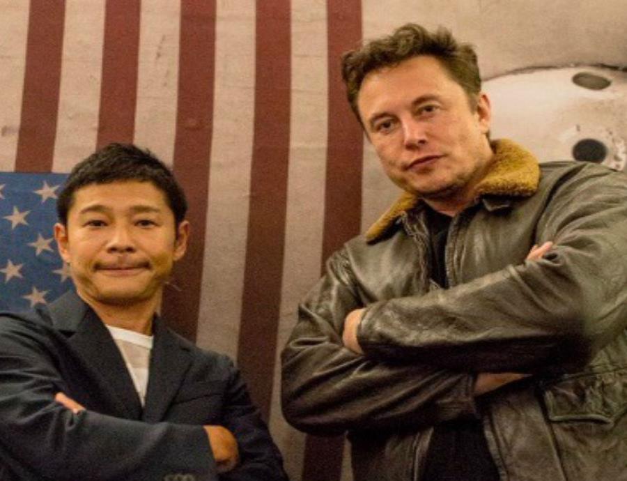 Maezawa es el decimoctavo hombre más rico de Japón con una fortuna de $2,900 millones. (semisquare-x3)