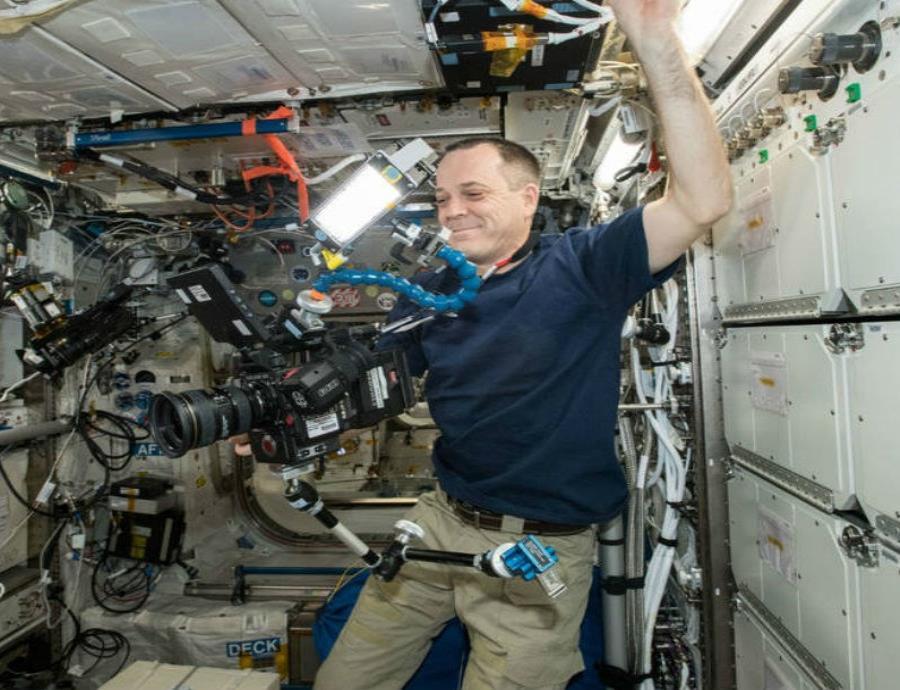 Este es el primer video en 8K desde el espacio