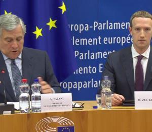 Mark Zuckerberg pide perdón ante el Parlamento Europeo