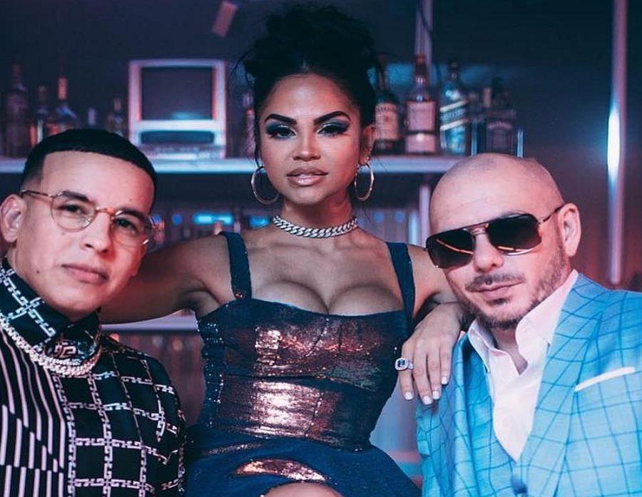 Pitbull se une a Natti Natasha y Daddy Yankee
