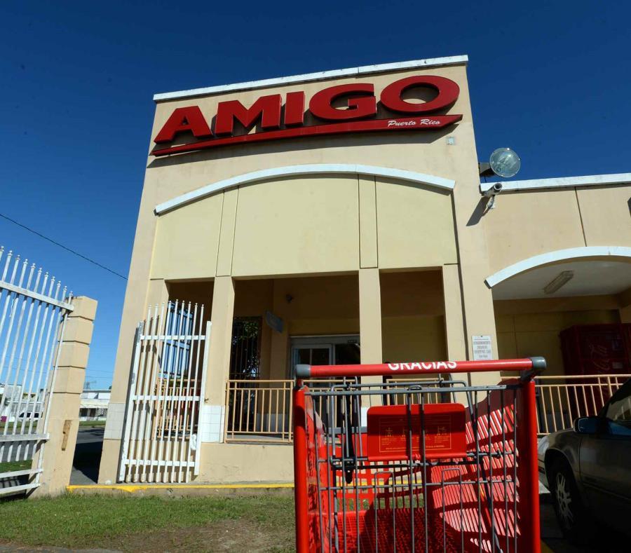 El Supermercado Amigo se quedaría con 12 tiendas. (GFR Media) (semisquare-x3)