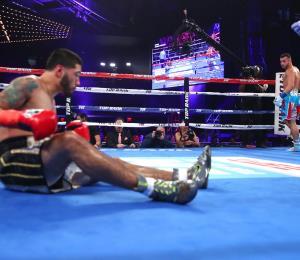 Pitufo Díaz se corona campeón regional superpluma