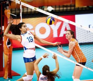 Cae Puerto Rico en el inicio de la segunda ronda del Mundial de Voleibol