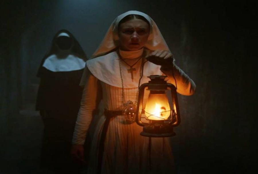 Escena de 'The Nun'. (AP) (semisquare-x3)