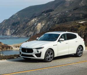 Mucho más potente el Maserati Levante