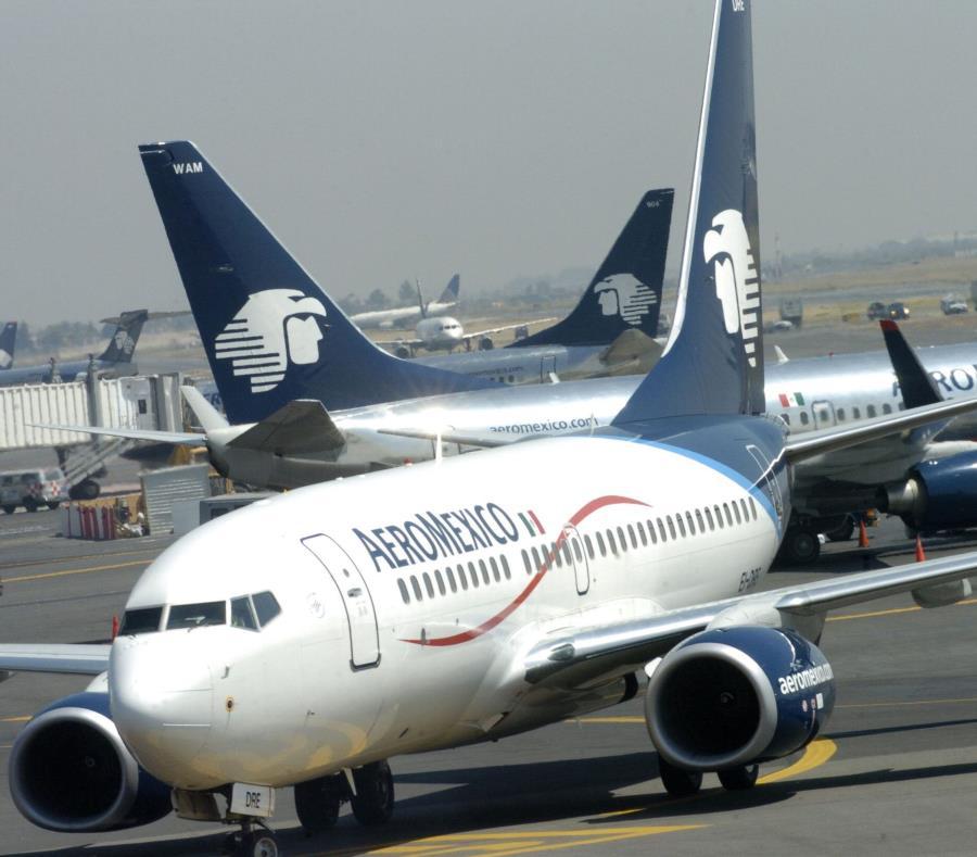La compañía Aeroméxico anunció suspensión temporal de la operación de sus seis aviones Boing 737 Max 8 (semisquare-x3)