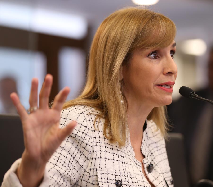 La doctora Beatriz Zayas, comisionada del Negociado de Ciencias Forenses. (GFR Media) (semisquare-x3)
