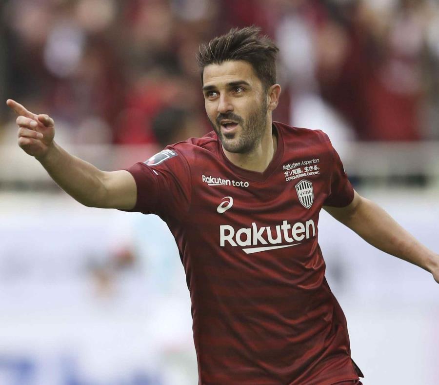 David Villa anunció su retiro del futbol profesional