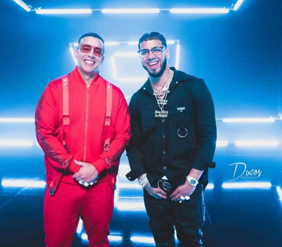Daddy Yankee junto a Anuel AA. (Suministrada) (semisquare-x3)