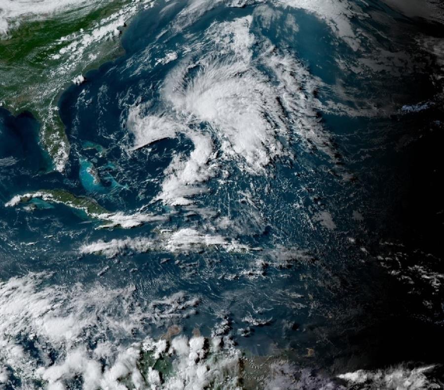 El sistema, según informó NHC, no representará amenaza para el Caribe. (Imagen del satélite GOES-16) (semisquare-x3)
