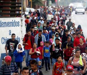Caravana de migrantes hondureños rumbo a Estados Unidos: ¿no pasarán?