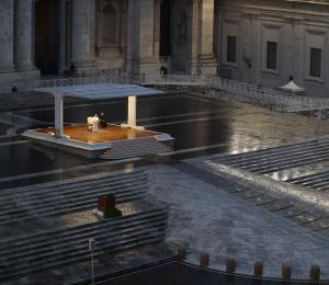 El papa Francisco recibe al presidente del gobierno de Italia en medio de la pandemia