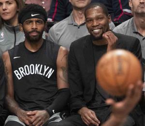 Los Nets no descartan a Durant e Irving si la NBA se reanuda