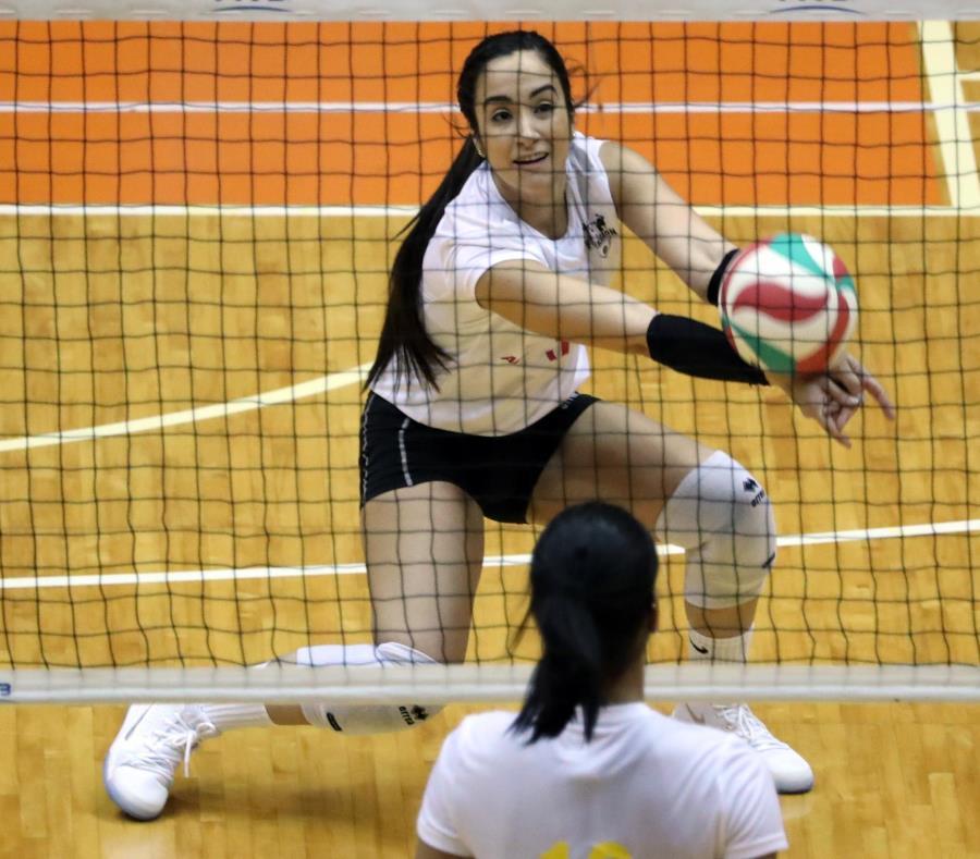 Valeria León sumó 32 defensas en el último partido de Toa Baja. (semisquare-x3)