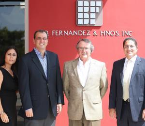 Empresa B. Fernández supera el ciclón