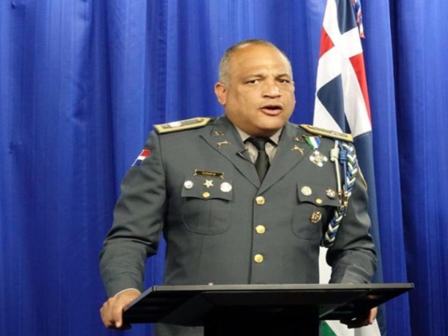 El portavoz de la Policía Nacional de República Dominicana, coronel Frank Félix Durán Mejía. (semisquare-x3)