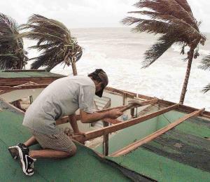 Conciencia ante un huracán