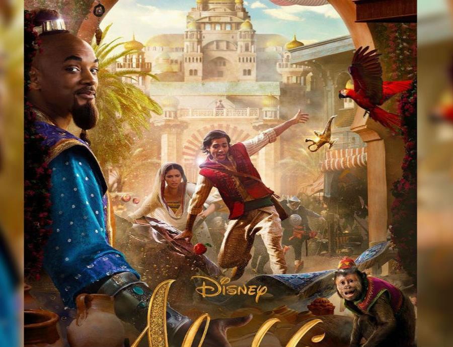 En la nueva película de Disney aparecerá Wll Smith como el genio. (Instagram/disneyaladdin) (semisquare-x3)