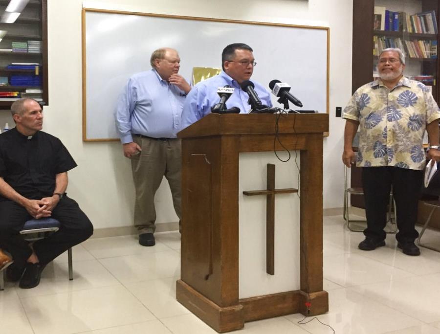 La Iglesia católica de Guam se declarará en bancarrota ante las demandas de abuso (semisquare-x3)