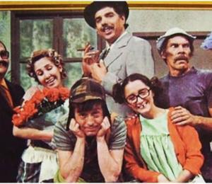 """El nieto de Don Ramón comparte una fotografía inédita del elenco de """"El Chavo del 8"""""""