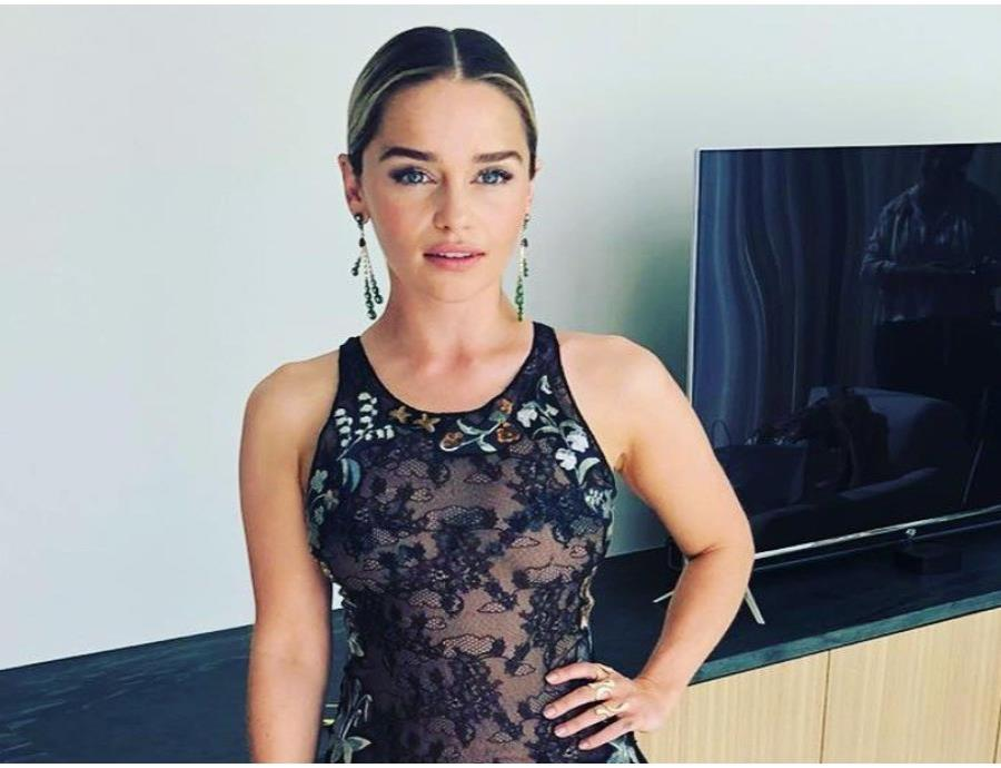 La actriz interpretó el personaje de Daenerys Targaryen en la famosa serie.  (Instagram/@emilia_clarke) (semisquare-x3)