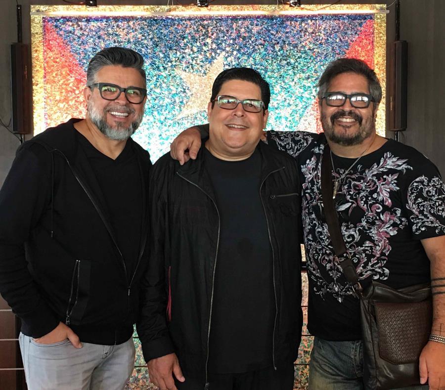 (De izq. a der.) Luis Enrique, Roberto Sueiro y Glenn Monroig participarán en el espectáculo. (Suministrada) (semisquare-x3)