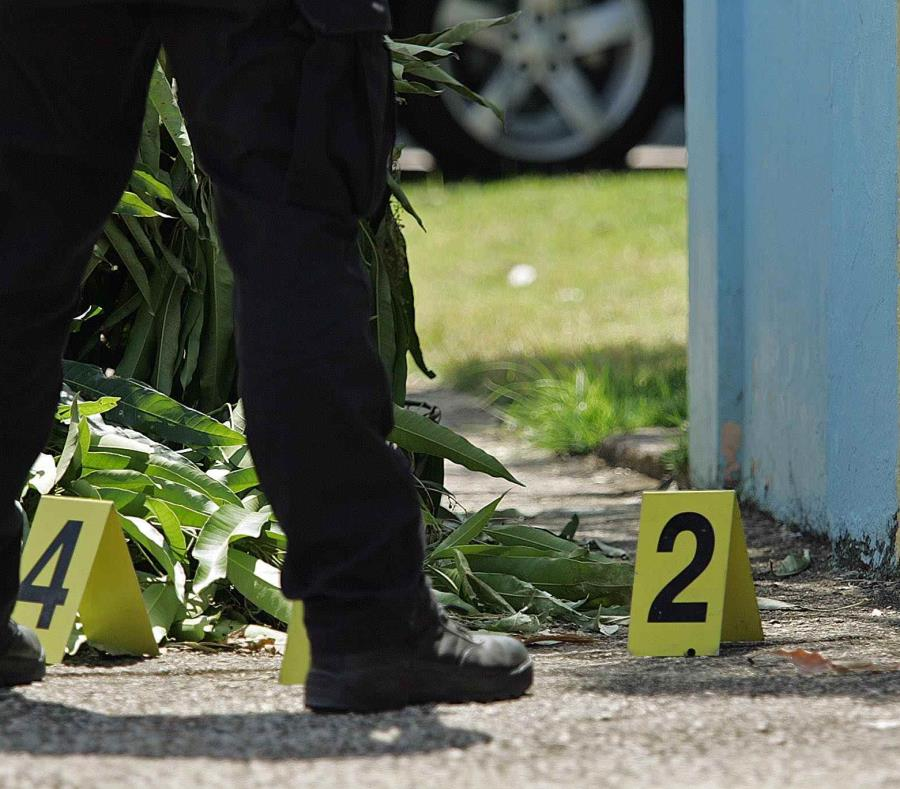 En la escena se ocuparon múltiples casquillos de bala. (GFR Media) (semisquare-x3)