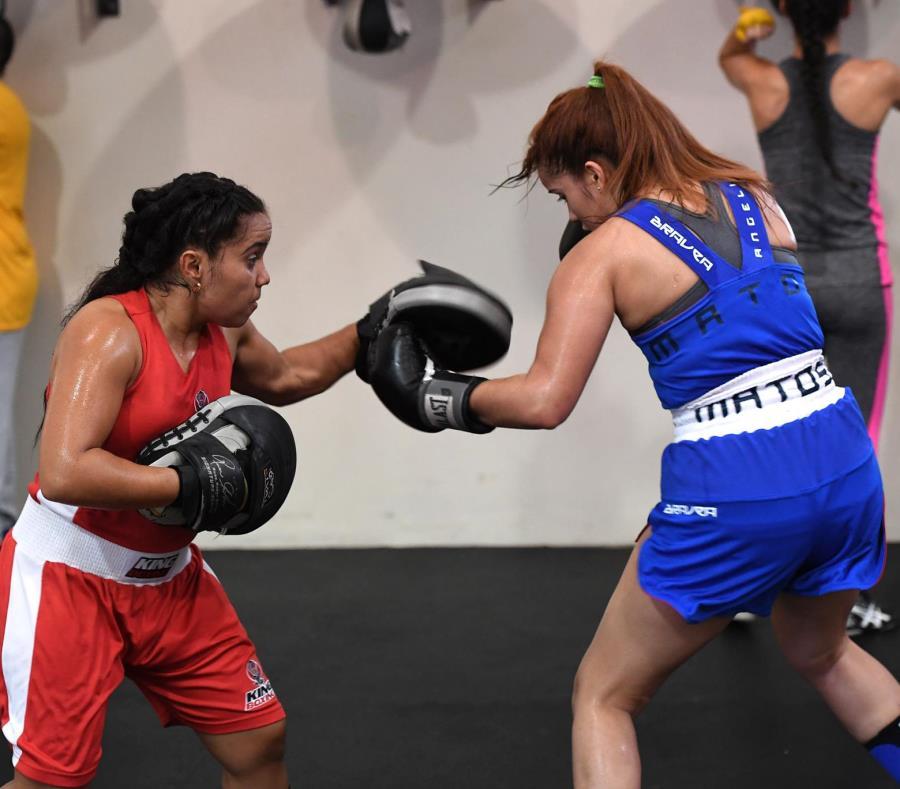 Rose Matos (izquierda) peleará en la categoría de 51 kilogramos. (semisquare-x3)