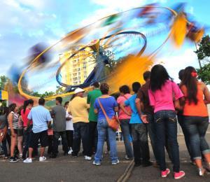 Guía de wikén: diversión en La Feria The Park