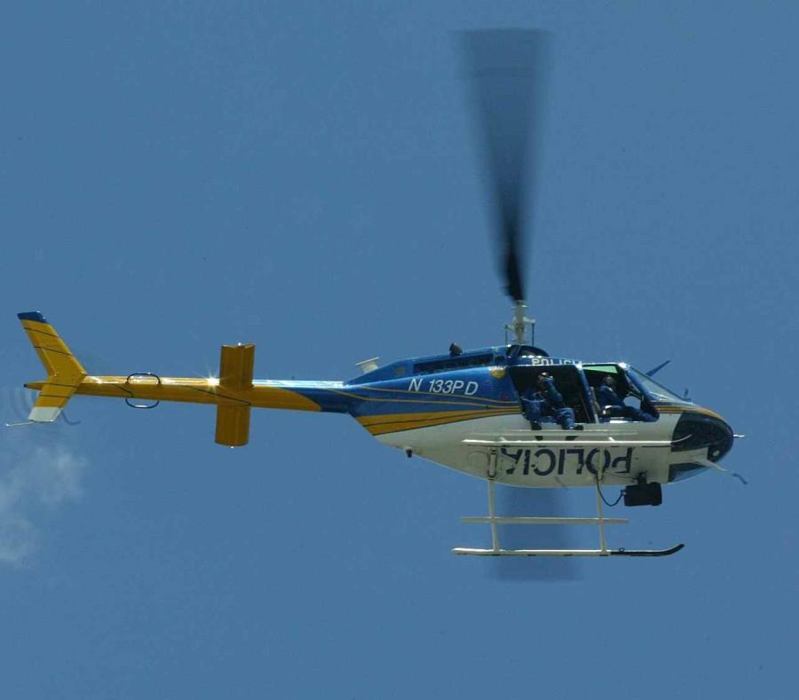 Un helicóptero de la Policía. (GFR Media) (semisquare-x3)