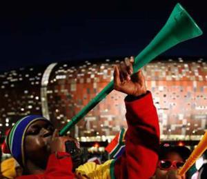 Instalarán una vuvuzela gigante en un parque en Rusia