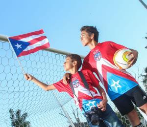 Dos niños boricuas estarán presentes en el Mundial de Fútbol en Rusia
