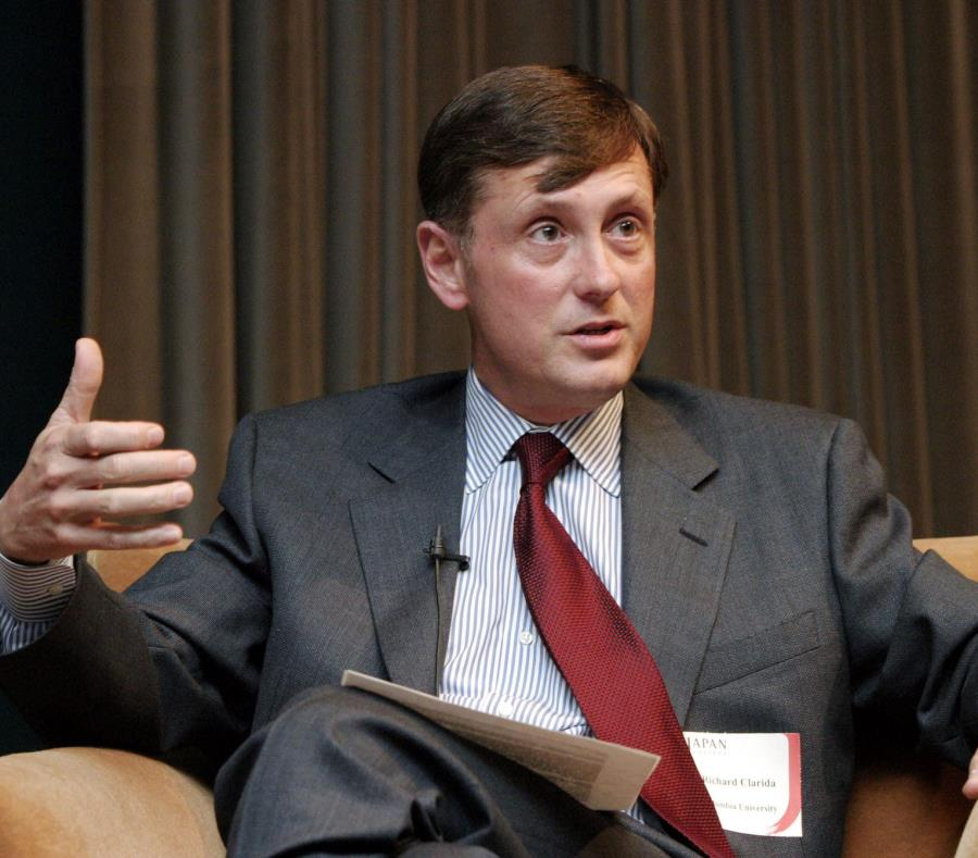 Richard Clarida, vicepresidente de la Fed (semisquare-x3)