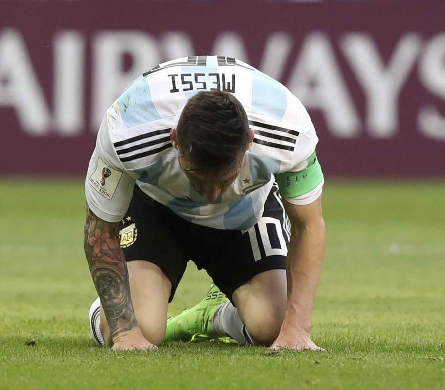 Así llegó Messi a Barcelona tras eliminación de Argentina del Mundial 2018