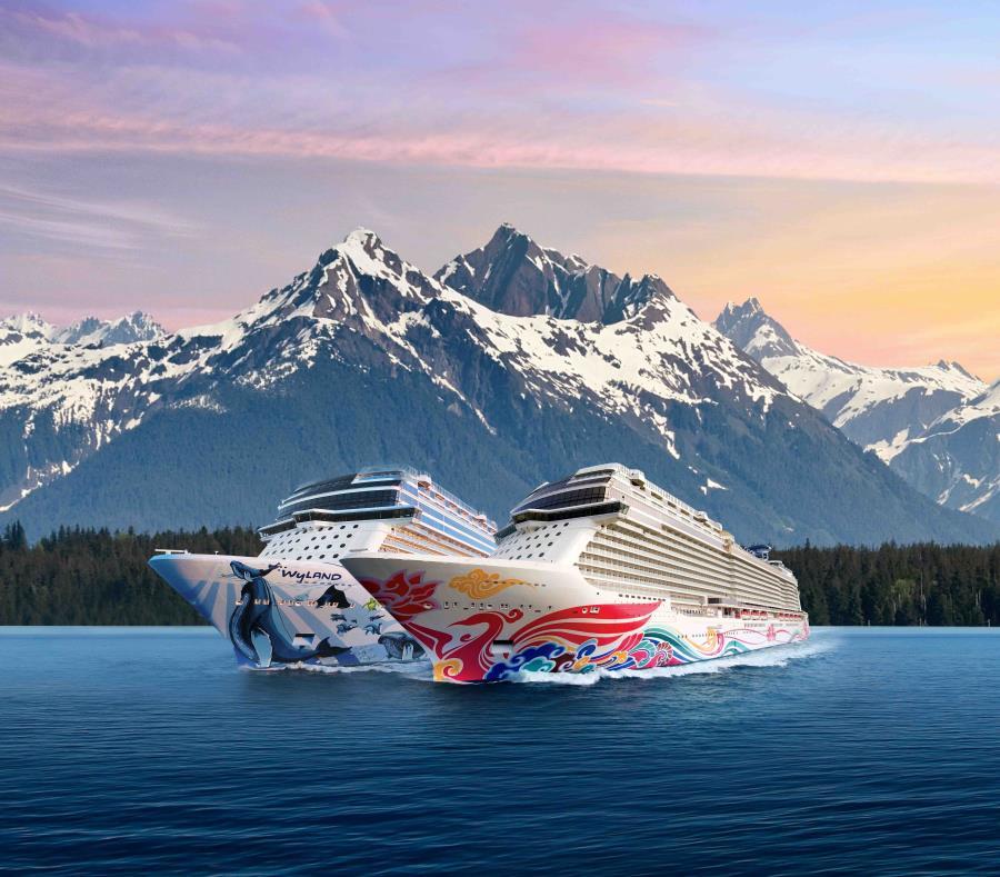 Los cruceros Bliss y Joy de Norwegian estarán recorriendo la ruta de Alaska este verano. (semisquare-x3)