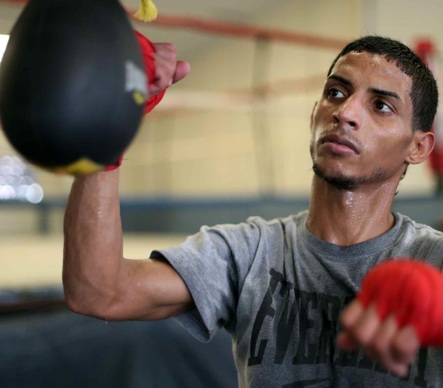 El boxeador Ángel