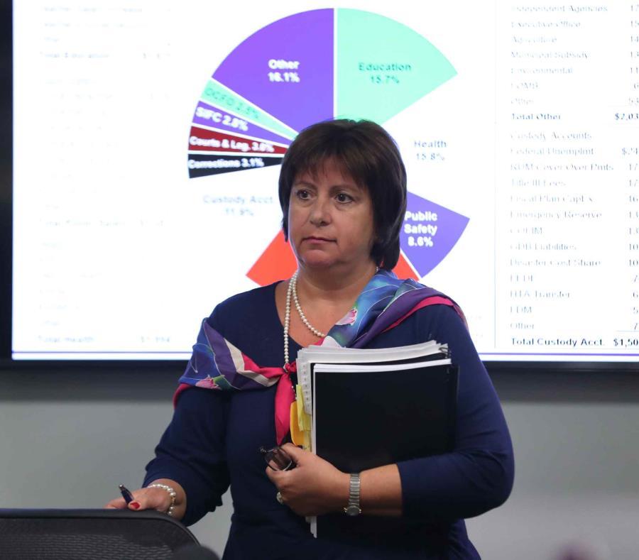 La directora ejecutiva de la JSF, Natalie Jaresko, notificó mediante carta a la Comisión de Hacienda de la Cámara que declinaba una invitación a deponer. (semisquare-x3)