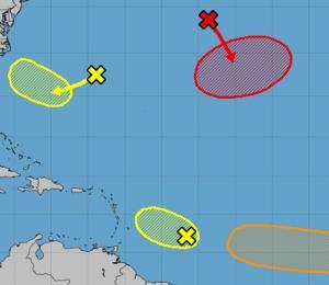 Se reactiva la actividad ciclónica en el océano Atlántico
