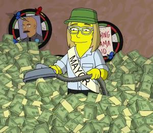 Los Simpsons vuelven a hacer un reclamo por Puerto Rico