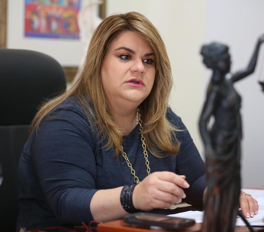Jenniffer González dijo que hay que presionar para mejorar las asignaciones de Medicaid. (GFR Media) (semisquare-x3)